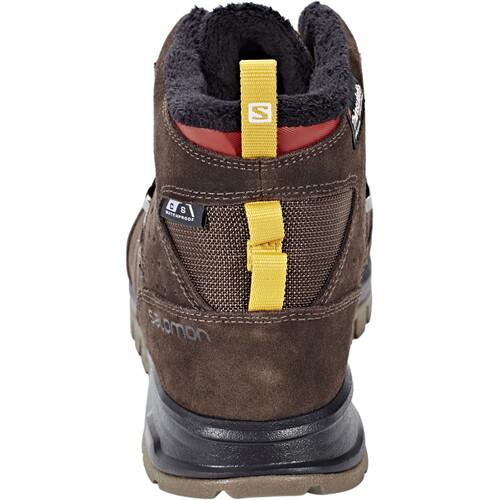Salomon Utility TS CS WP - Chaussures Homme - marron sur campz.fr ! Prix Pas Cher Offre À Vendre Livraison Gratuite Manchester Magasin En Ligne Pas Cher p9EMlihl